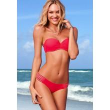 Bänder Bikini rot