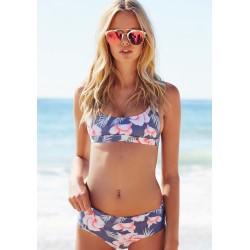 Blumen Print Bikini