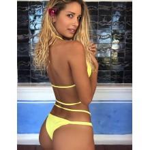 Strappy Bikini gelb