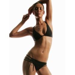 Strappy Bikini schwarz