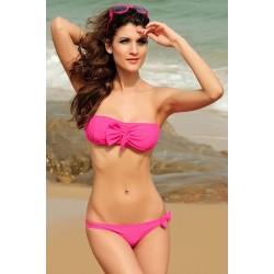 Schleifen Bikini pink