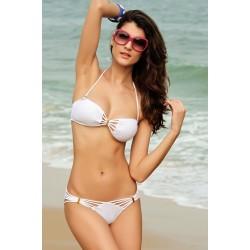 Strappy Bikini weiss