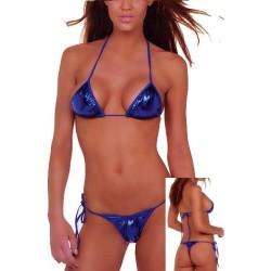 Brasil Bikini blau metallic