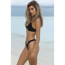High Cut Brasil Bikini schwarz