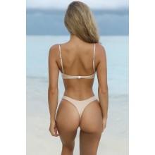 High Cut Brasil Bikini champagner