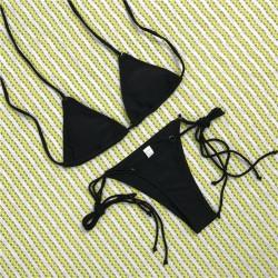 Brasil Triangle Bikini schwarz