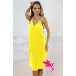 Strandkleid gelb